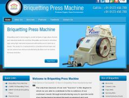 Briquetting Press Machine